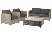 4 Seasons outdoor,  Lodge living set, Pure