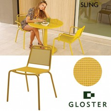 Gloster, Nomad dining chair with arms sling