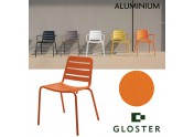 Gloster, Nomad dining chair with arms