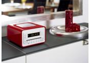 Sonoro radio/cd-speler rood