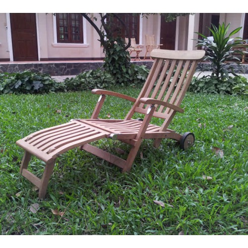 traditional teak victoria deckchair. Black Bedroom Furniture Sets. Home Design Ideas